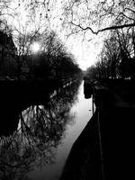 Late Dec afternoon on Regents Canal