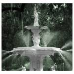 """French Fountain Story (Color)"" by PadgettGallery"