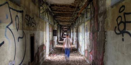 corridor apparition