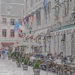 """""""Un Café à Vieux-Montréal"""" by Draculesti27"""