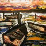 """""""Bay at Sunset"""" by gregchiaramonti"""