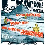 """The Crocodile 042706 Gig Poster"" by nifty"