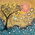 """Enchanted Hummingbirds"" by juliryan"