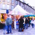"""edinburgh market"" by HeatherCampion"