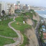 """Coastline of Lima, Peru"" by jennmau"