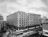Palace Hotel, Market and New Montgomery Street c18 by WorldWide Archive