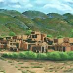 """""""Taos Pueblo"""" by BarbaraAnneApplegate"""