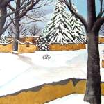 """Santa Fe Snow"" by BarbaraAnneApplegate"