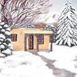 """""""Taos Snowfall"""" by BarbaraAnneApplegate"""