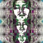 """""""half fractal 3 face"""" by LukaszSzyszka"""