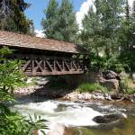 """The Covered Bridge, Vail, Colorado"" by jknophotos"