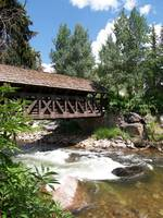 The Covered Bridge, Vail, Colorado