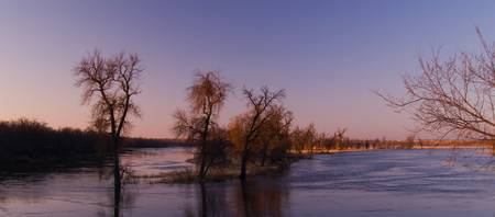 Flood on the James River