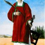 """Saint Lawrence Martyr"" by laudate"