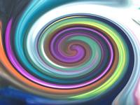 Swirly Rainbow