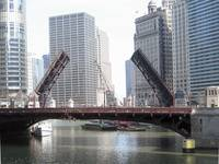 The Chicago River...