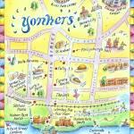 """Downtown Yonkers, NY"" by jenniferthermes"