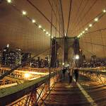 """Brooklyn Bridge dreamy night"" by DennisFox"