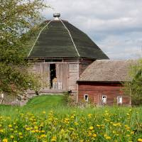 Buckentin Octagonal Barn Art Prints & Posters by Ruth Tremblay