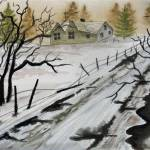 """WINTER FARMHOUSE"" by JimmySmith"