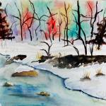 """Winter Stream"" by JimmySmith"