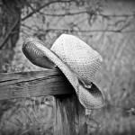 """""""Cowboy Hat BnW"""" by DKNicklas"""