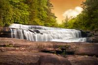 Fabled Falls - Blue Ridge Mountains Waterfalls