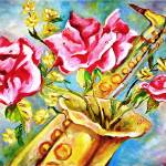 """BLOOMING SAX"" by inowicki"