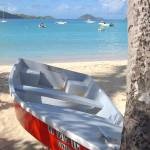 """Boat on beach"" by Erica_Marshall"