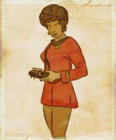 UHURA - It's A Gibberish - Original Art