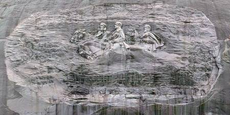 Stone Mountain Etching