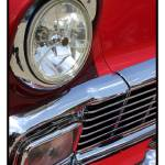 """Classic Car Red 07.14.07_263"" by paulhasara"