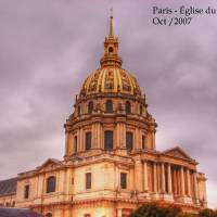 """R  Paris  glise du Dome"" by Vautrin"
