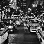 """Tokyo Taxis"" by sparrowhawk"