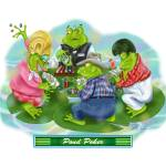 """Frogs in Vegas~Pond Poker"" by shariwarren"
