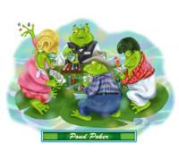 Frogs in Vegas~Pond Poker
