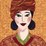 """Japanese Girl series - Chieko in a Turban"" by RemnantWorks"