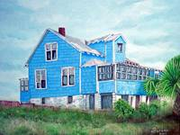 Blue House American Beach
