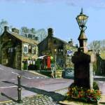"""DOBCROSS VILLAGE."" by IANHPARRY"