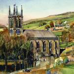 """SADDLEWORTH CHURCH"" by IANHPARRY"