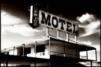 motel sign INFRARED 3 FINAL TONED BORDER