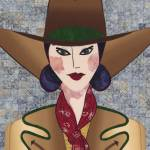"""""""Japanese Girl Series - Cowboy Chieko"""" by RemnantWorks"""