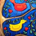 """""""PASAREA MAIASTRA  (MIRACULOUS BIRDS )"""" by saracatenacolorfulart"""