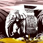 """Elephant"" by artheart"