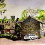 """CROSS KEYS UPPERMILL"" by IANHPARRY"