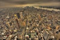 New York from Empire State Building