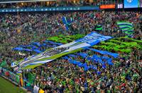Seattle Sounders FC MLS Inaugural Game HDR