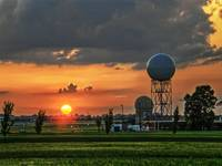 National Weather Center Sunset