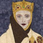 """Countess Uta - fabric mosaic"" by RemnantWorks"
