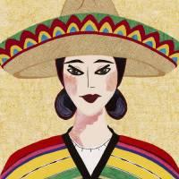 Japanese Girl Series - Chieko Lindo Art Prints & Posters by Kerri Jones